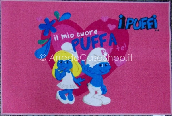 Tappeto puffi arredo casa shop for Cuscini 80x120