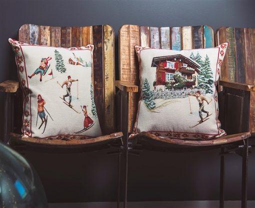 Cuscino sciatori